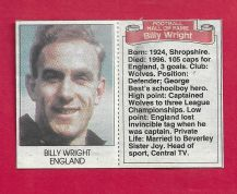 England Billy Wright (DMHF)
